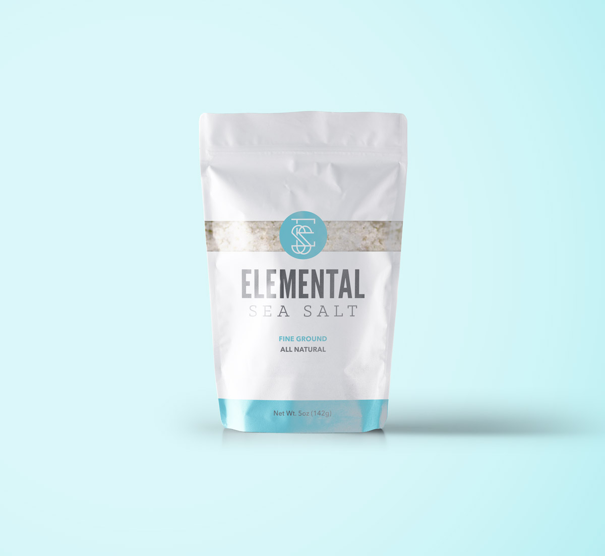 Elemental Sea Salt - Visual Brand and Logo Design - Packaging Print Design