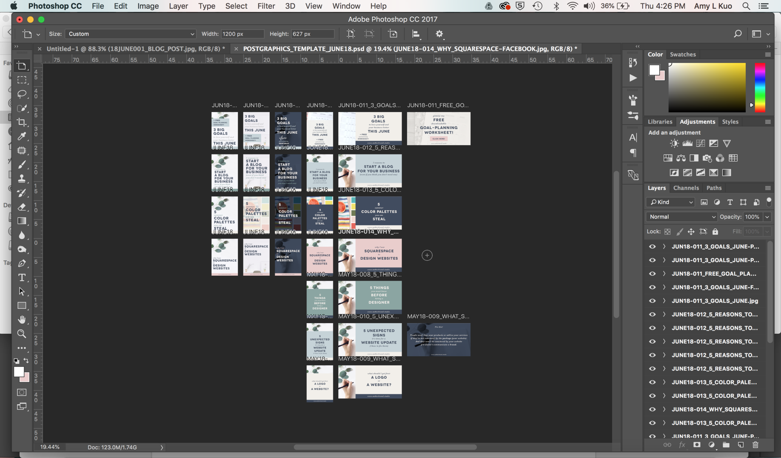Create Share-Worthy Blog Post Graphics FASTER in Photoshop - My Artboards