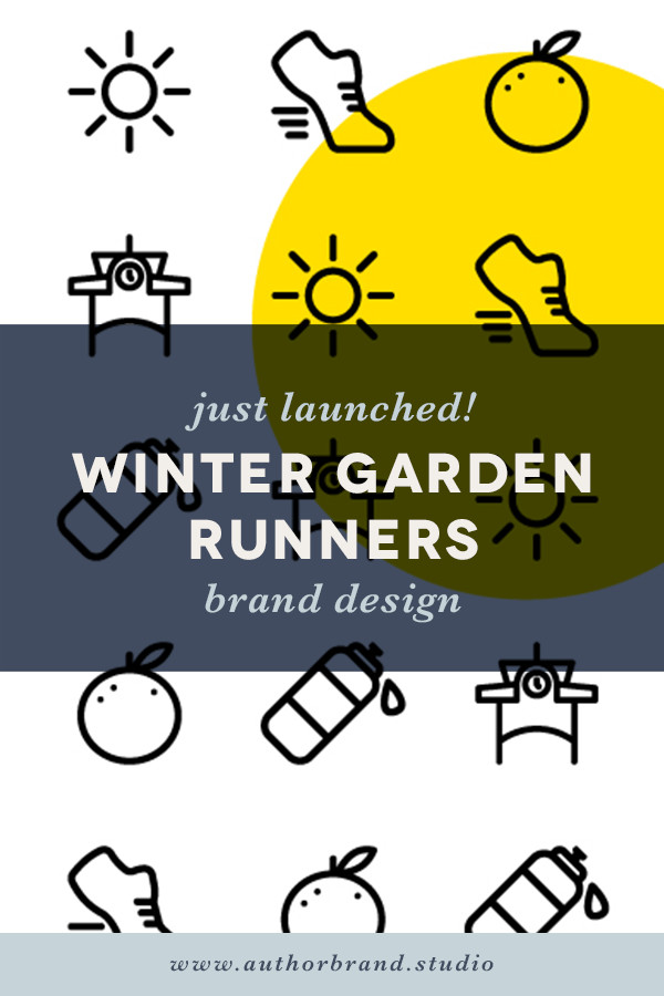 Winter Garden Runners Brand Design Logo Design Launch