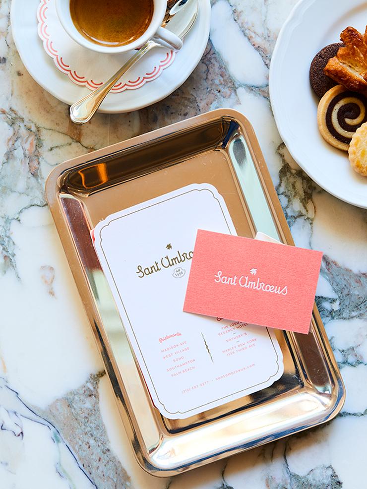 SANT AMBROEUS, COLLATERAL —  Branding, Print Design