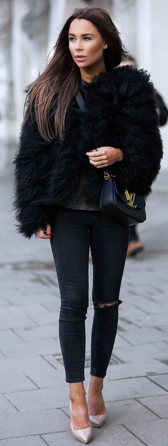 More ways to wear faux fur!