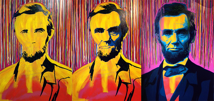 Abraham Lincoln Painting by Jeremy Penn