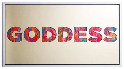 Jeremy Penn Goddess Painting