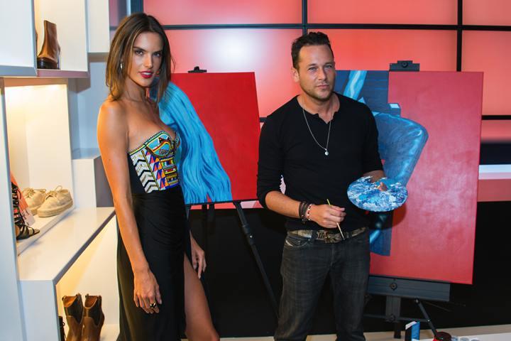Alessandra Ambrosio & Jeremy Penn