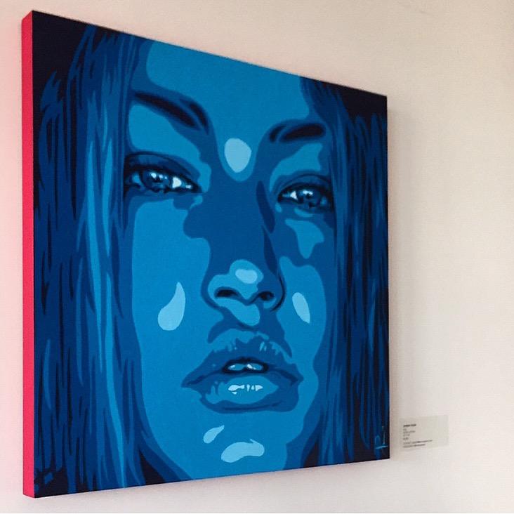Gigi Hadid Painting