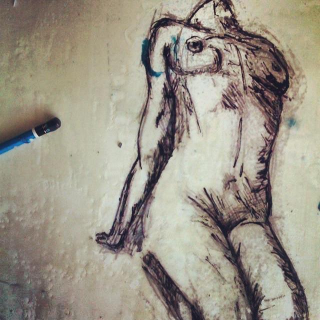 Jeremy Penn Nude Sketch