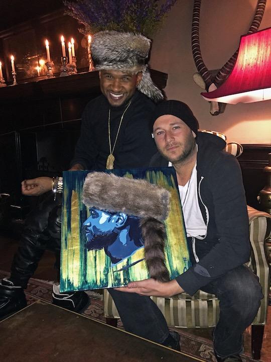 Usher & Jeremy Penn