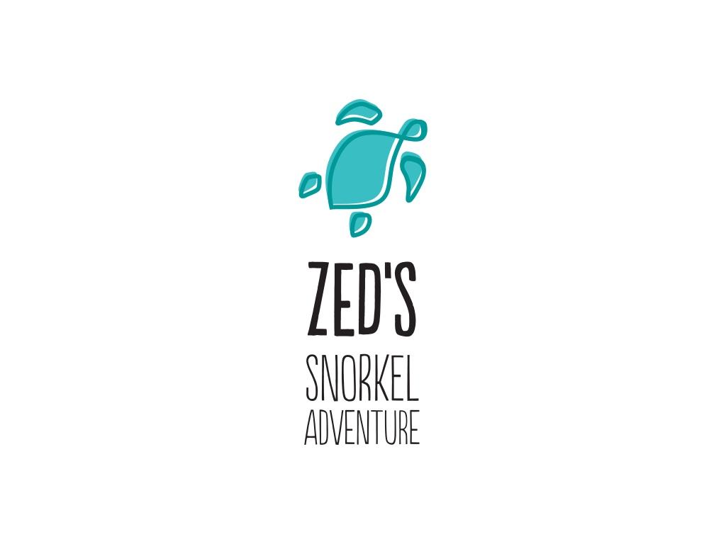 Zed's Snorkel Logo Design