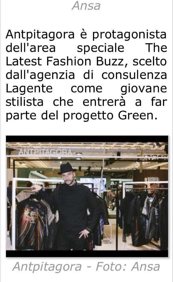 AntPitagora 87 Pitti Immagine Uomo for the Lagente Green Project - Vogue Italia - GQ Italia The Last Fashion Buzz