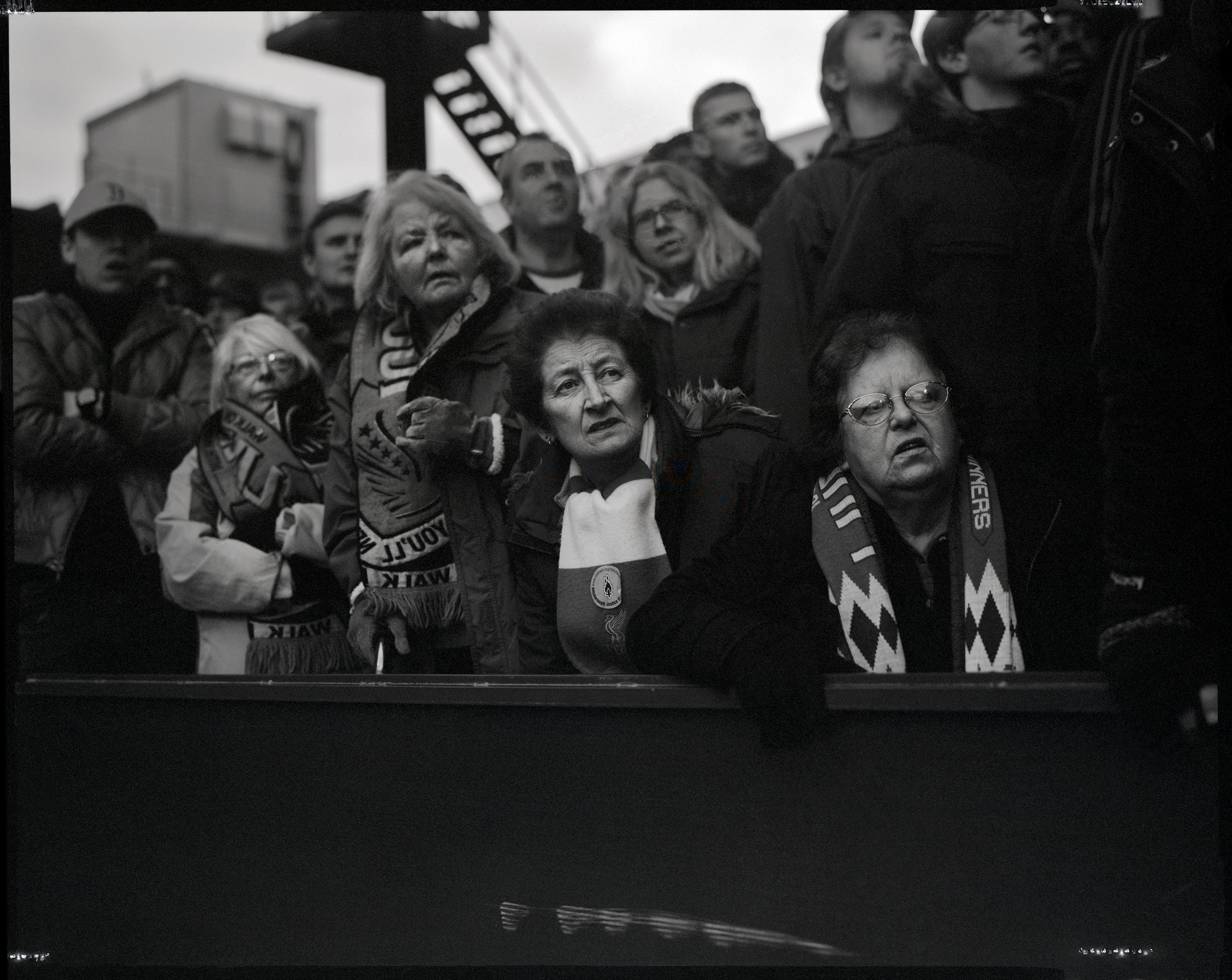 Liverpool fans, Selhurst Park, Crystal Palace 1 Liverpool 2, March 6, 2016