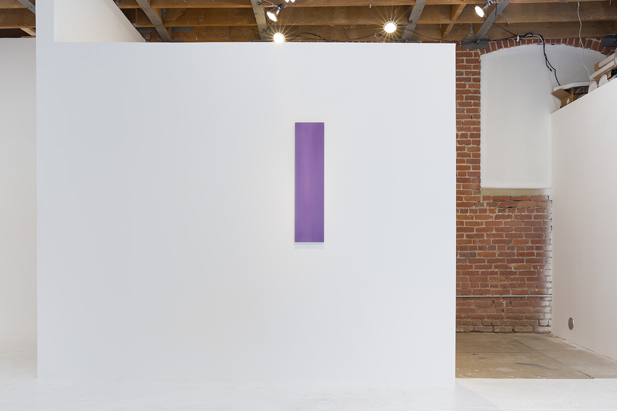 Roy Thurston,  2015-5 , 2015, acrylic polyurethane on milled aluminum  , 35 ¾      x 8¾ x 1  ¼      inches