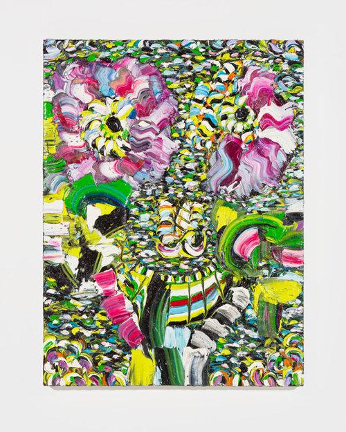 Sally Bruno,  Wild Child ,    2016,oil on canvas, 40 x 30 inches