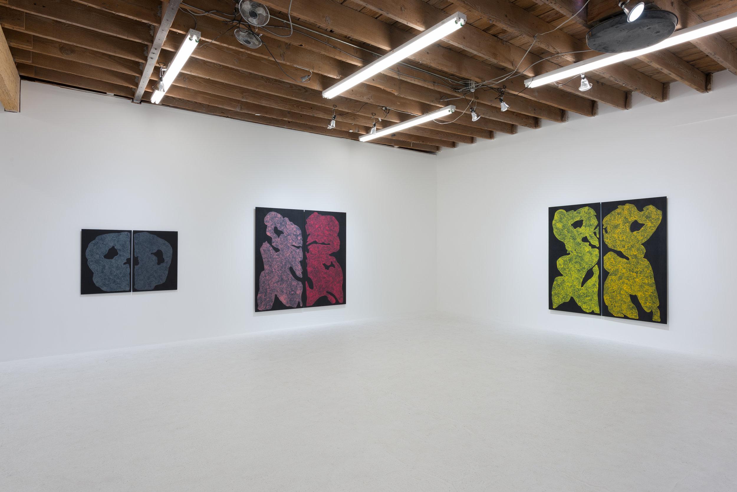Monique Prieto, Luster . Installation view. Photo: Ruben Diaz.