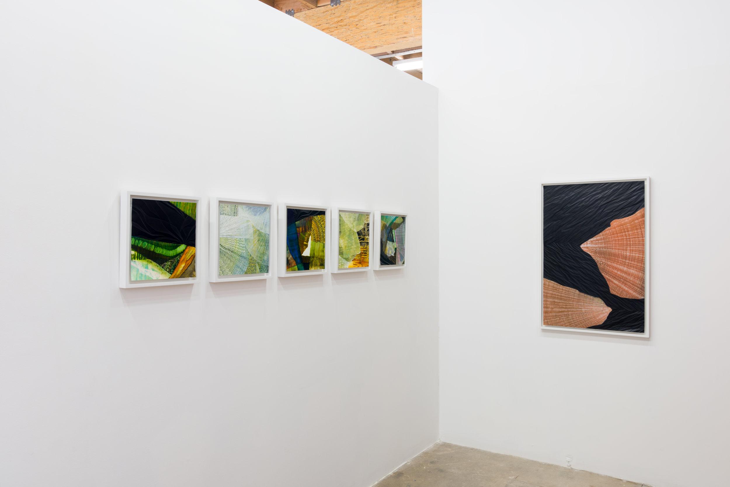 Sandeep Mukherjee,  New Work , 2016. Installation view, Chimento Contemporary. Photo: Ruben Diaz