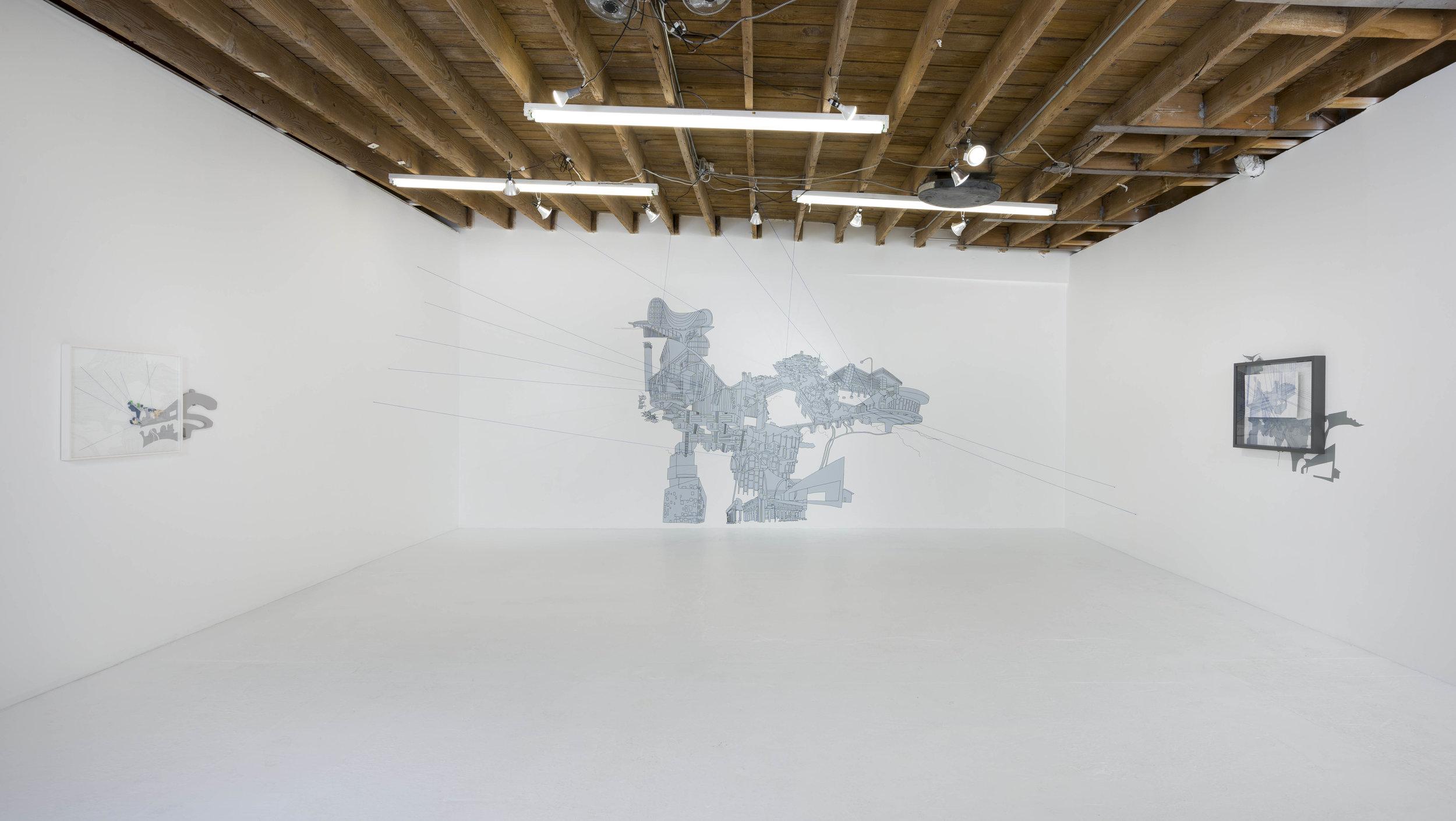 Kim Schoenstadt, 'Context v. Perspective'. Installation view, Chimento Contemporary. Photo: Ruben Diaz.