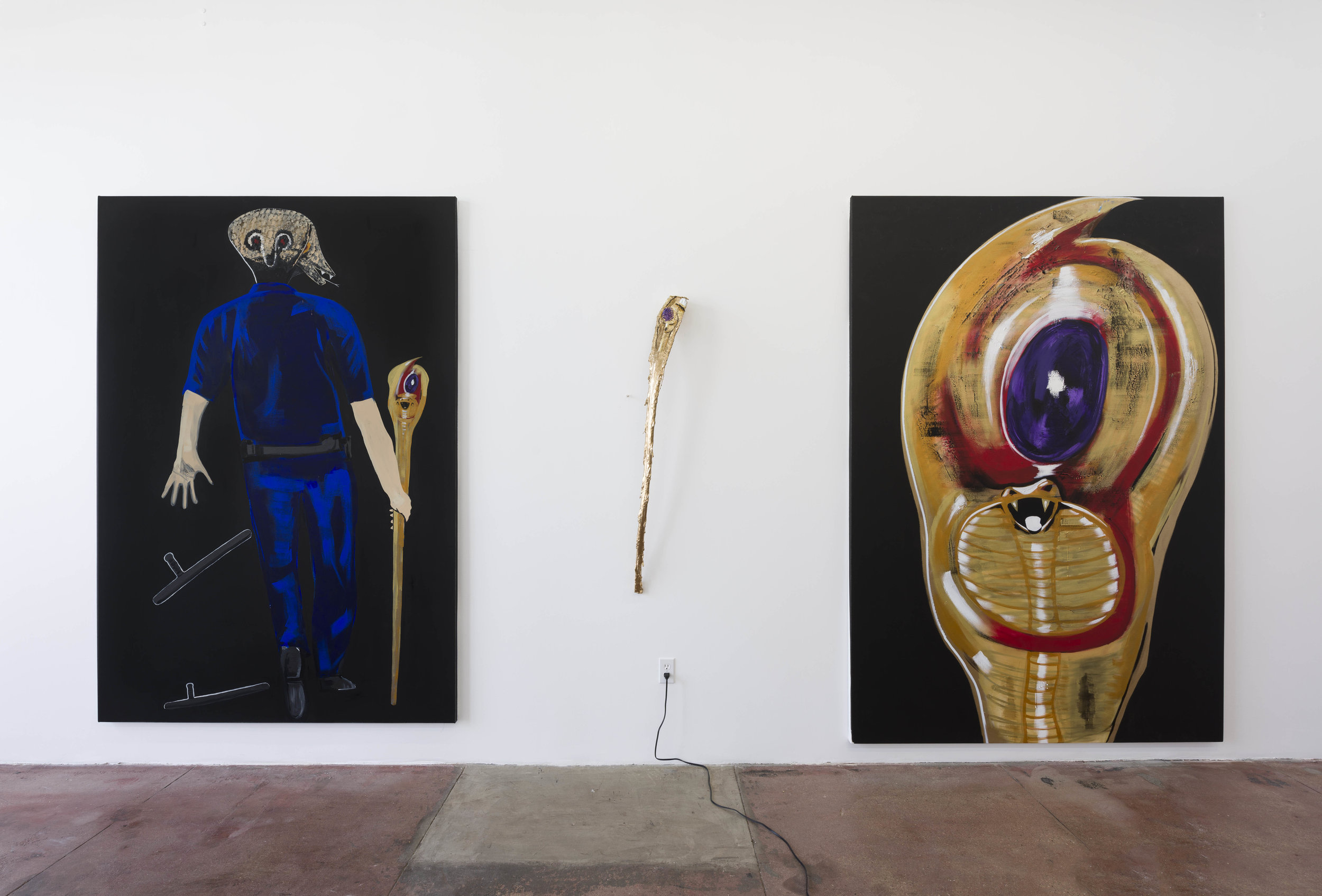 Body Count , installation view. Chimento Contemporary. Photo: Ruben Diaz