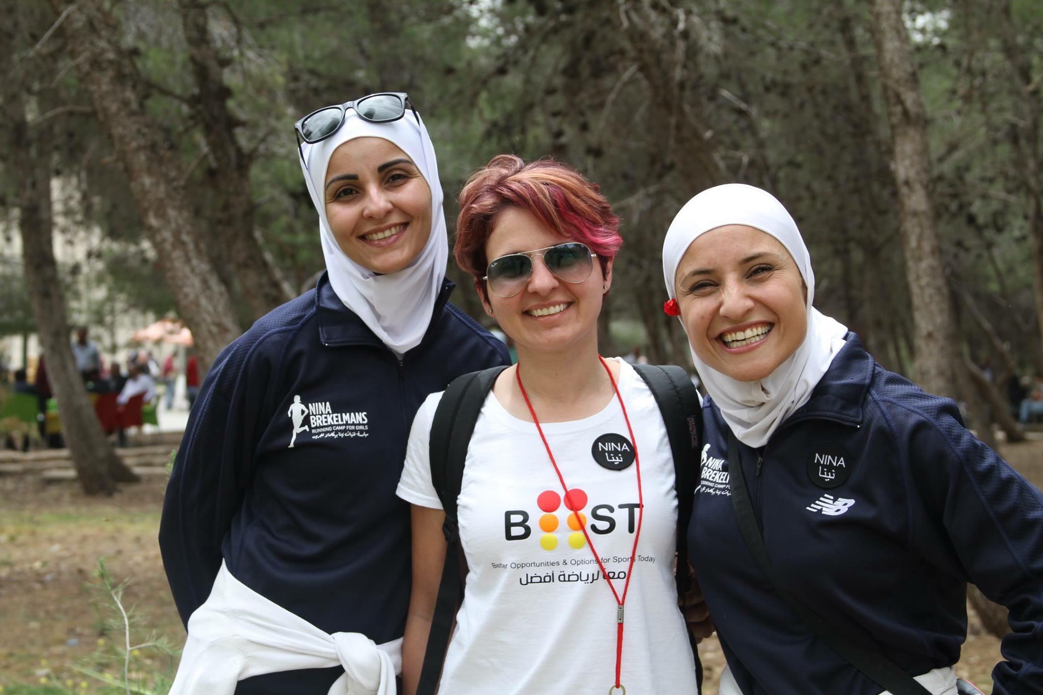 Ashwak BaDran, Batoul Arnaout, and Shareefa Alsqqa