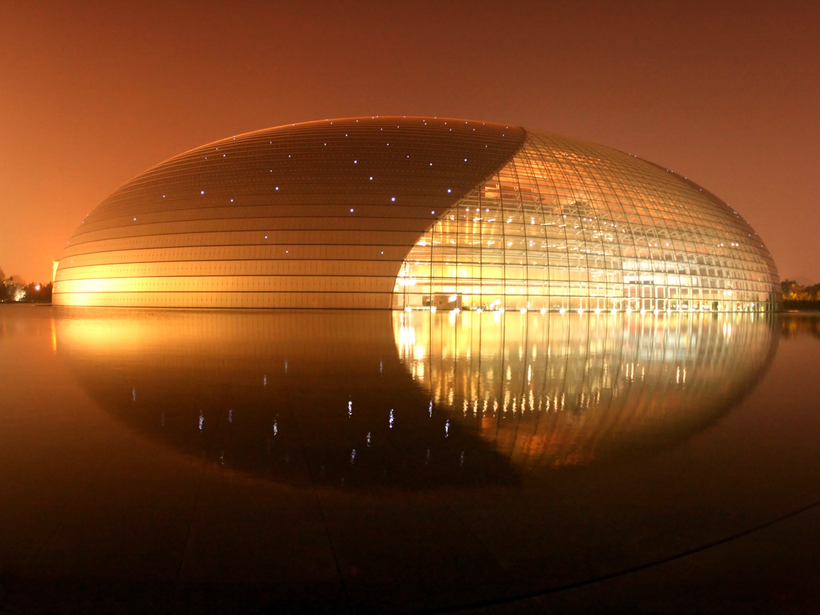 Opéra de Pékin,  Paul Andreu   ©photo Lance McMillan