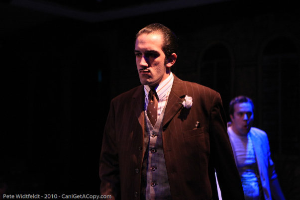 """As Andre Thibault in """"Dirty Rotten Scoundrels"""" at the Hale Center Theater Orem with Darick Pead"""