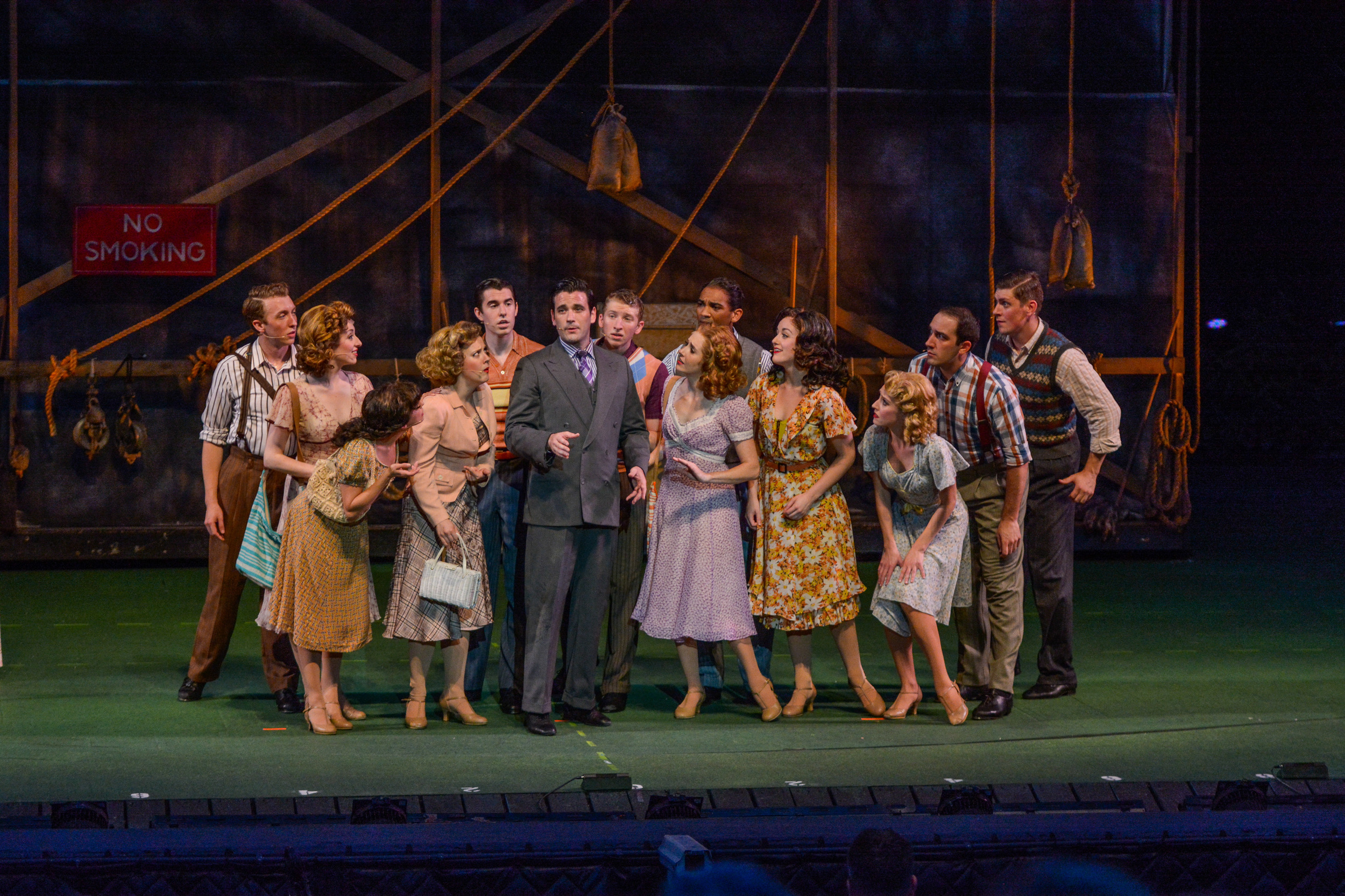 """""""Irving Berlin's Holiday Inn"""" at the Muny with Colin Donnell and Company"""