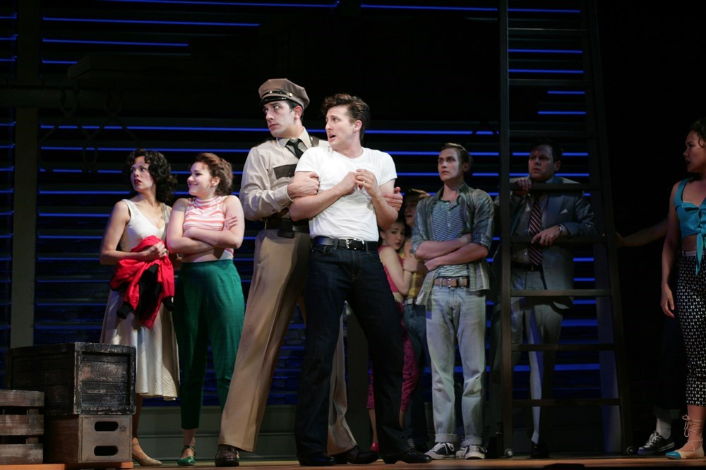 """""""Bye Bye Birdie"""" at the Goodspeed Opera House with Rhett Guter and Company."""
