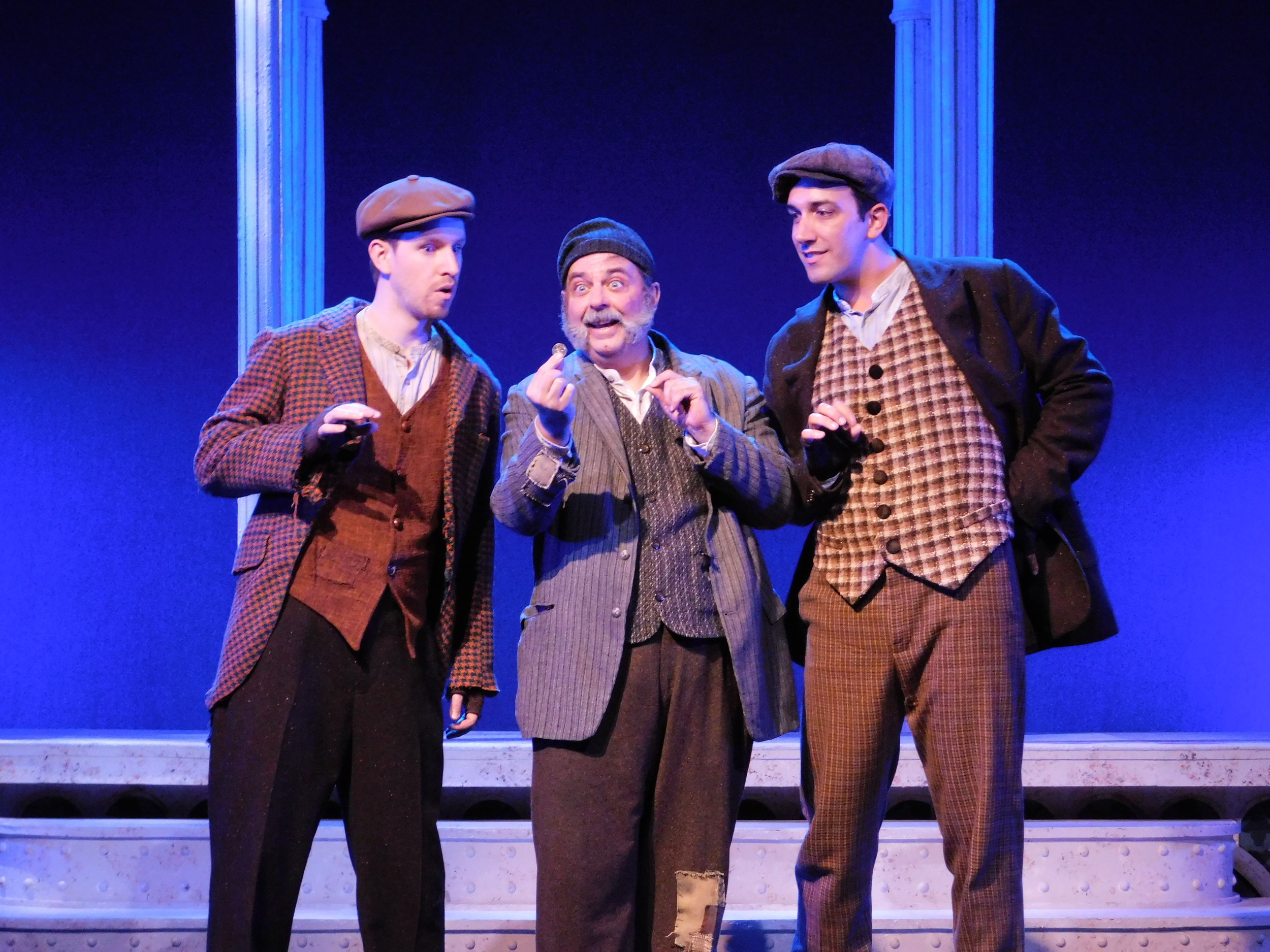 """As Harry in """"My Fair Lady"""" at the Gulfshore Playhouse with Kevin Patrick Martin and Bill Dietrich"""