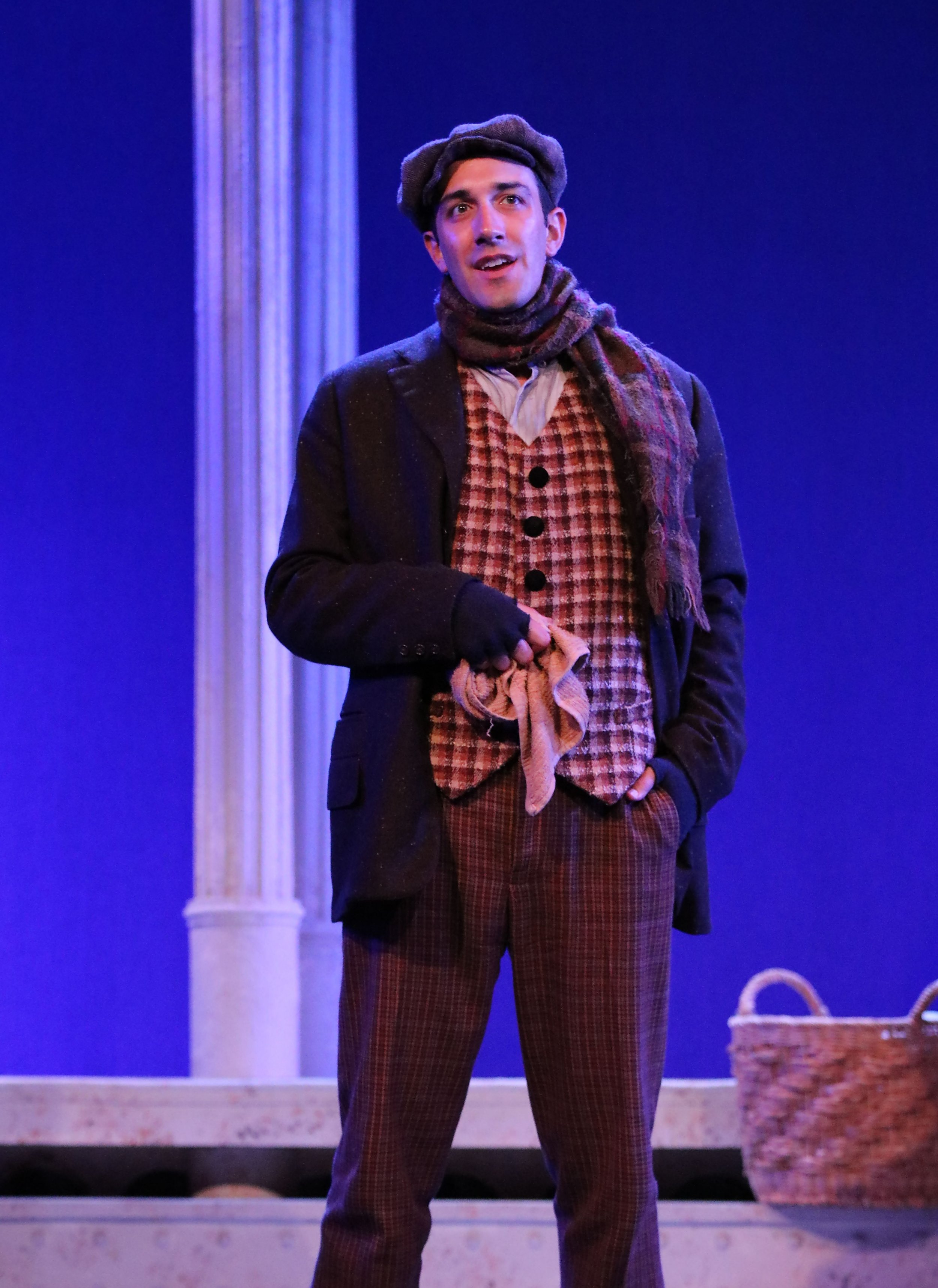 """As Harry in """"My Fair Lady"""" at the Gulfshore Playhouse"""