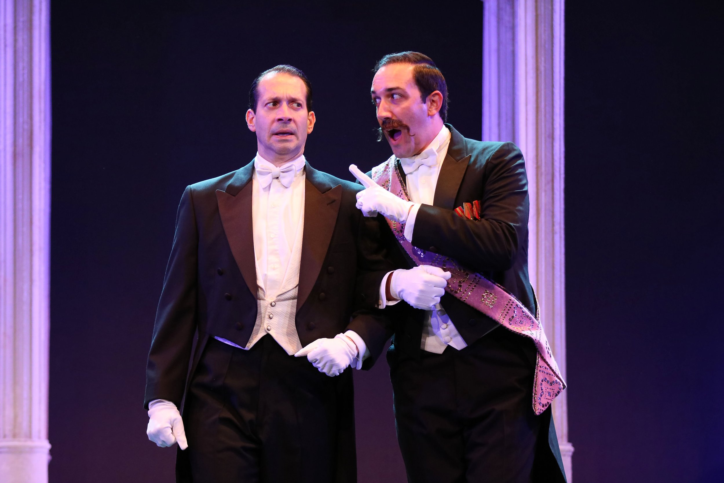 """As Zoltan Karpathy in """"My Fair Lady"""" at the Gulfshore Playhouse with Jeffrey Binder"""