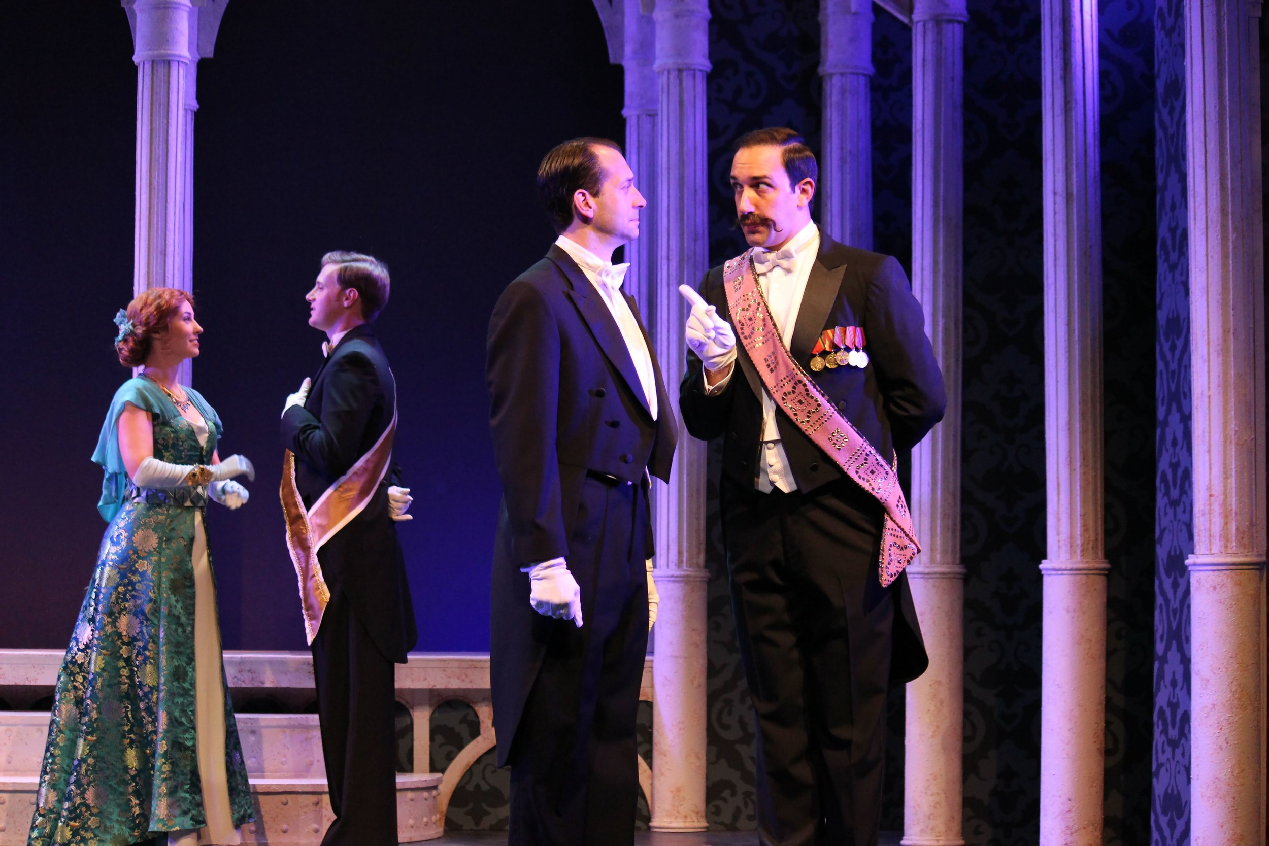"""As Zoltan Karpathy in """"My Fair Lady"""" at the Gulfshore Playhouse with Jeffrey Binder and Company"""