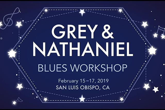 T-minus 3 days till the kickoff of the Grey and Nathaniel Workshop weekend. Don't forget to buy your ticket, sales end Wednesday night! More information on our Facebook event!