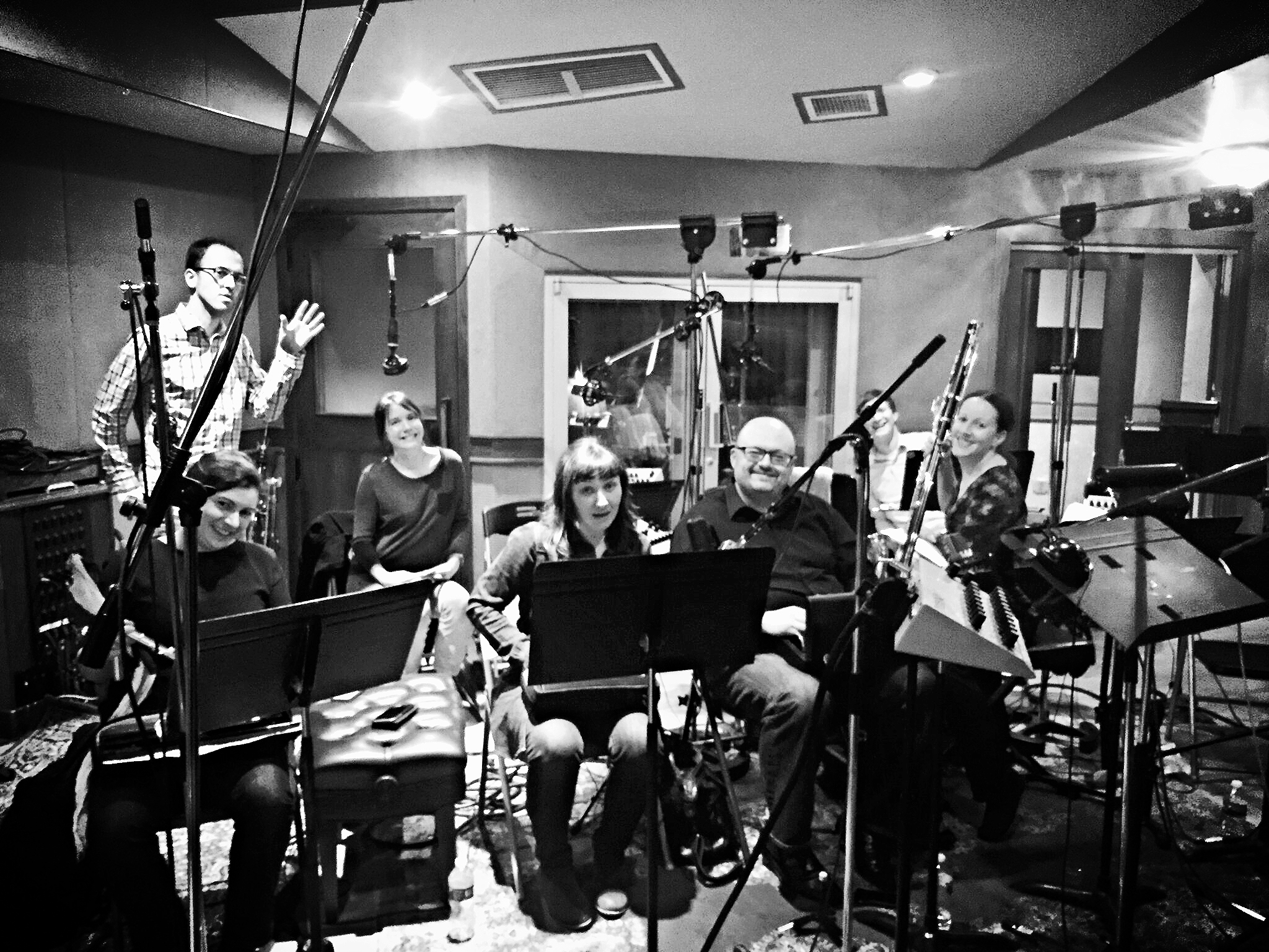 Scott Johnson Recording Session