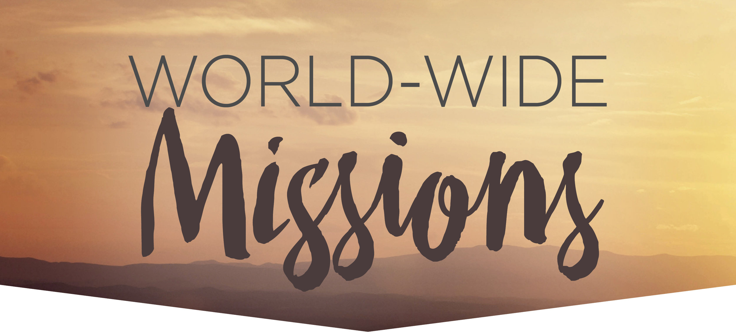 East and World-Wide Missions