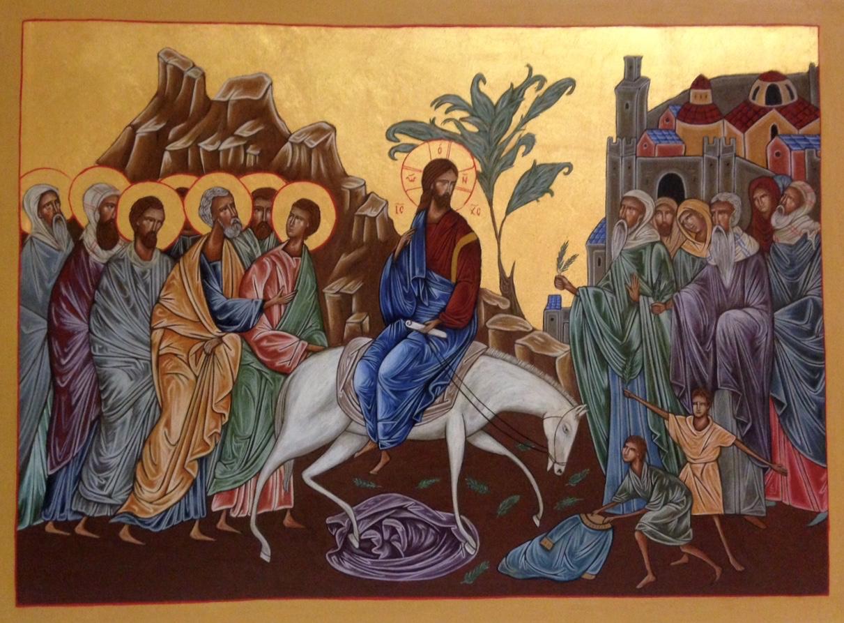 Entrée du Christ à Jerusalem