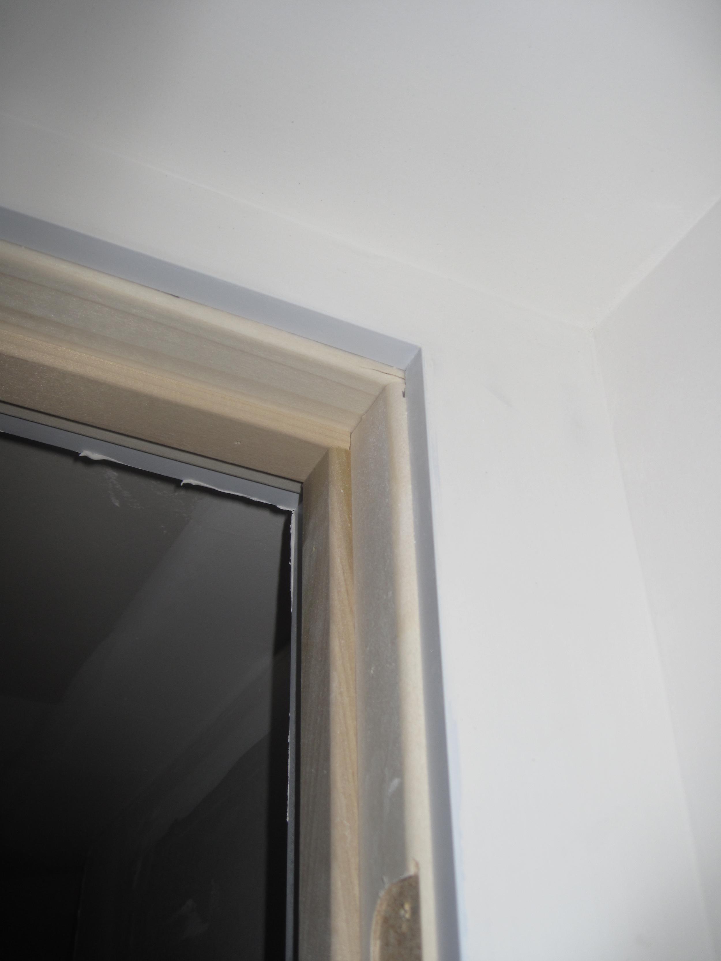 Door jamb - detail