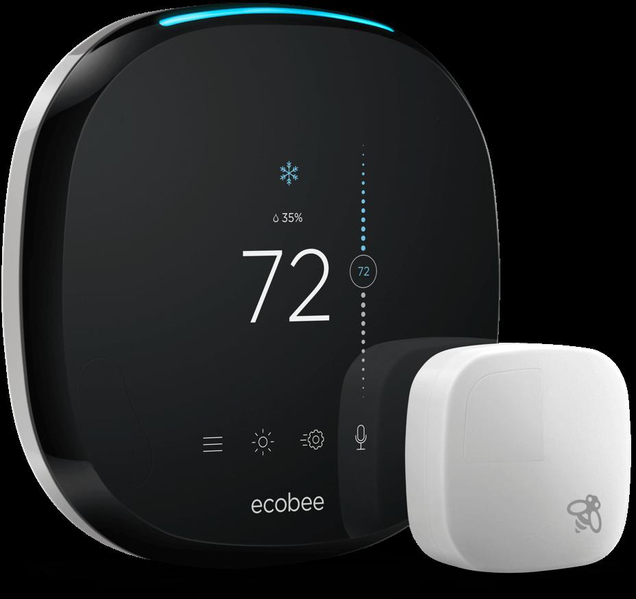 Ecobee Thermostat & Sensor -    Source