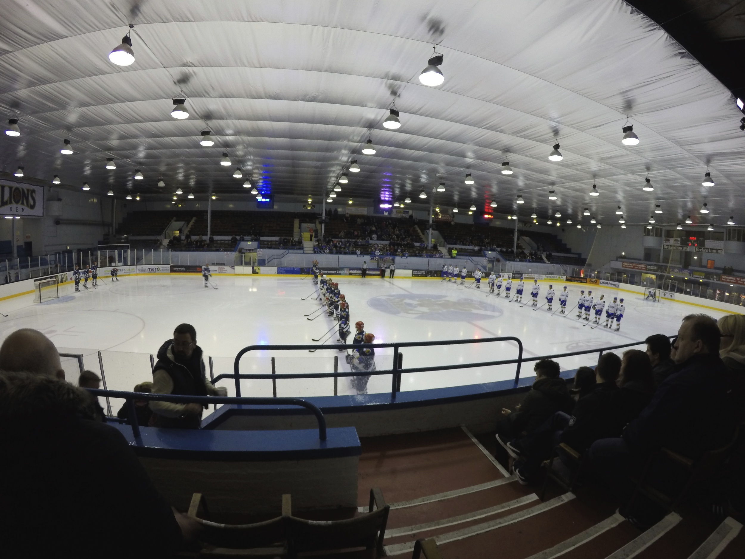 Edinburgh Capitals vs Fife Flyers
