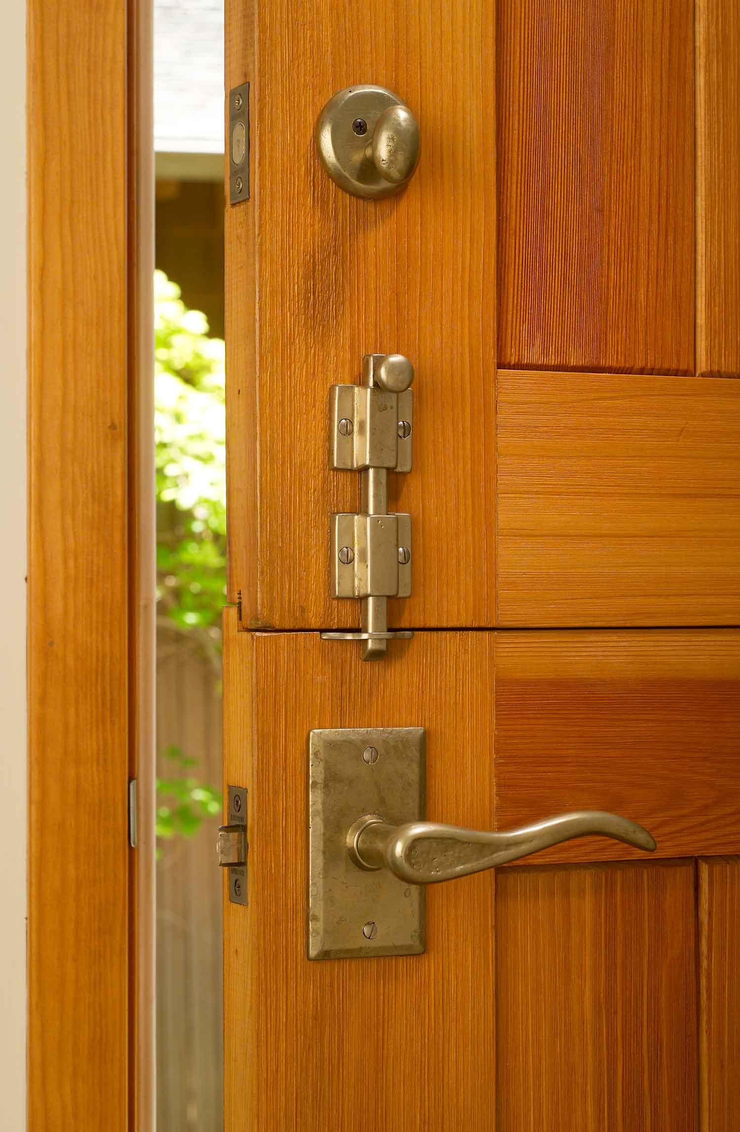 Picture of: Surface Cane Door Bolts Sun Valley Bronze