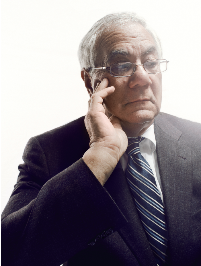 new york magazine / barney frank / photograph by christopher anderson