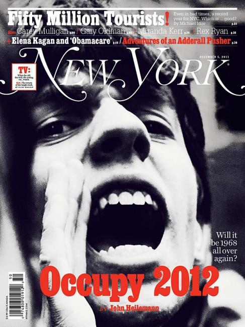 new york magazine / occupy 2012 / photograph by christopher anderson