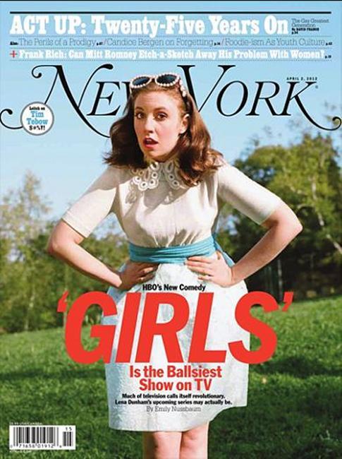 new york magazine / lena dunham / photograph by autumn de wilde