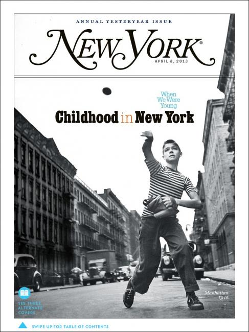 new york magazine / childhood issue
