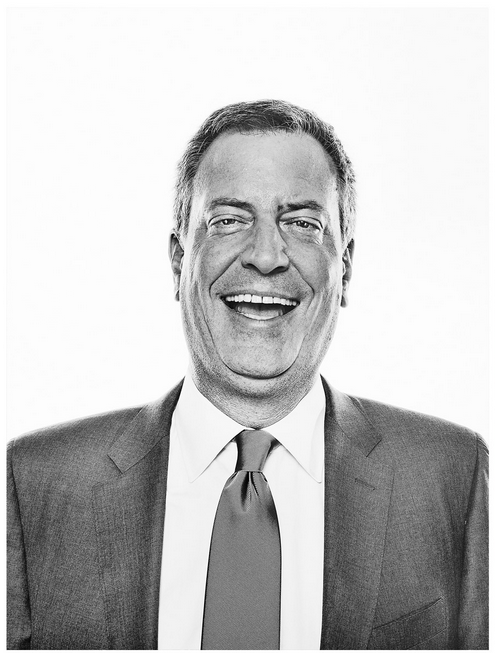 new york magazine / de blasio / photograph by christopher anderson