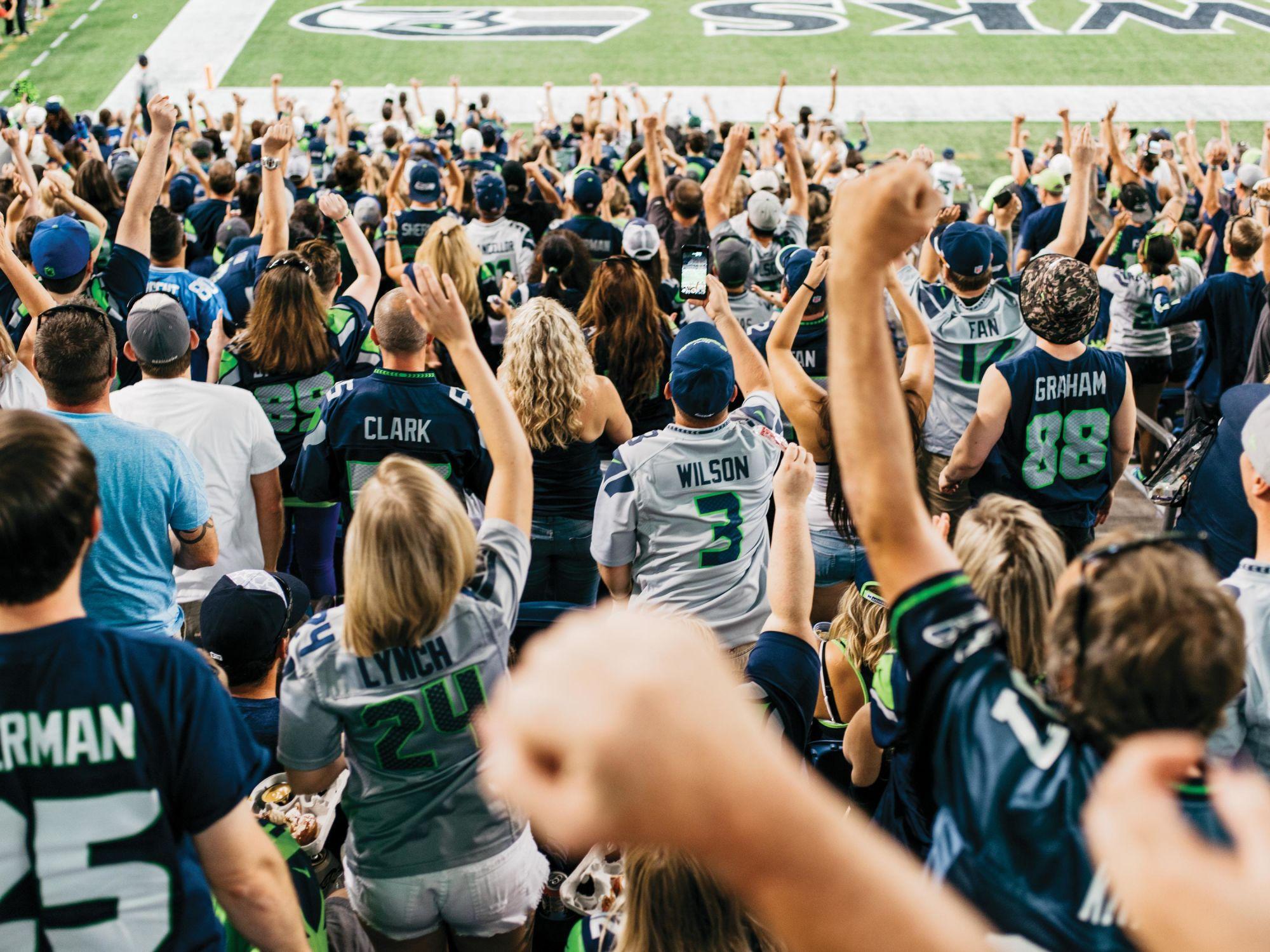 Seattle Seahawks fans  California Sunday Magazine  Photograph by Kyle Johnson