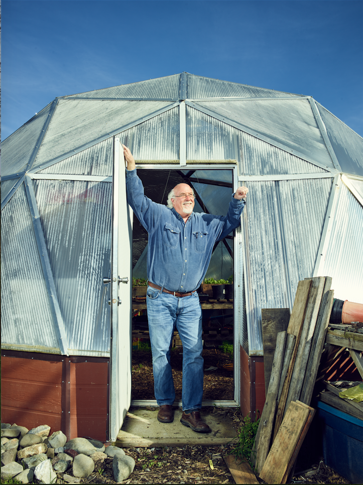 John Schaeffer, Solar Living Center  San Francisco Magazine  Photograph by Ian Allen