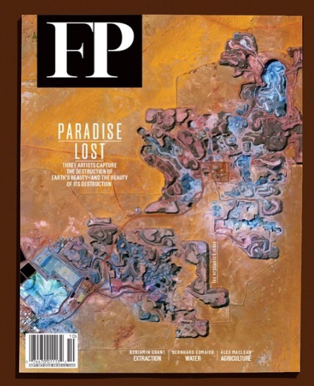 Foreign Policy Magazine, Cover  Resources Issue, 2016  (Research, Photo Essay)  Photographs by Benjamin Grant