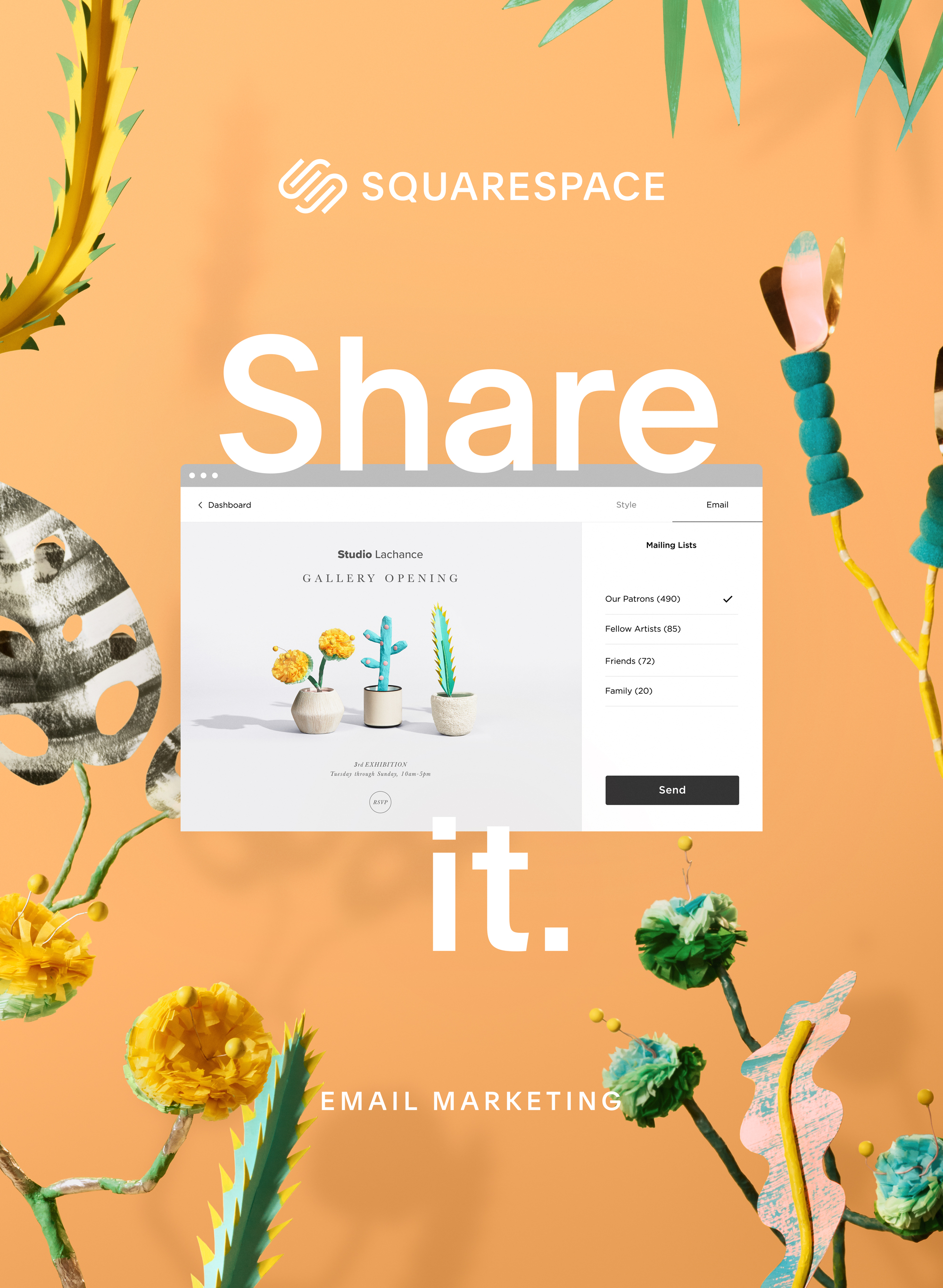 SQUARESPACE: ALL IN ONE