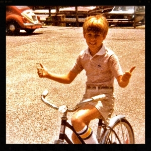 Super cool from a very young age.