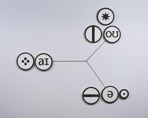 """Hydrogen 1,'' by Sarah Hulsey, in her show ""Schemata"""