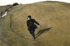 """""""Winter 1946'' (tempera), by Andrew Wyeth."""