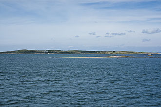 Penikese Island from the southeast.